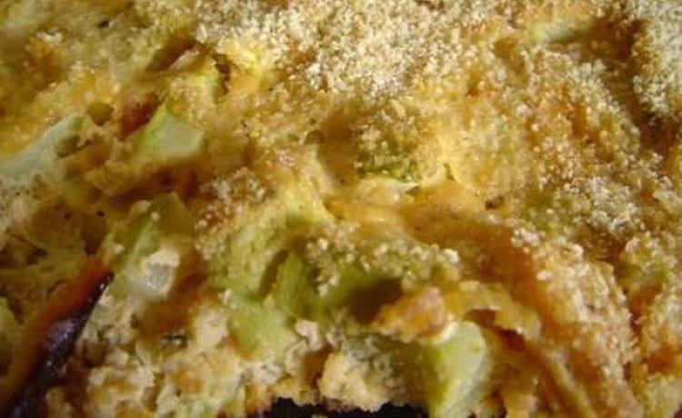 Recette de gratin de courgettes au boursin la recette facile - Courgette boursin cuisine ...