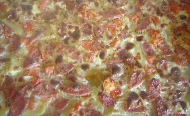Recette de tarte la saucisse de morteau et pommes de - Cuisiner saucisse de morteau ...