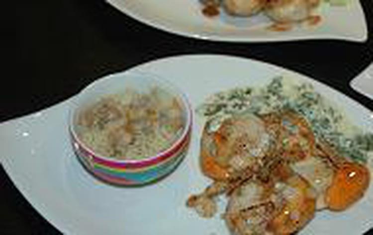 Recette de coquilles saint jacques aux amandes la - Cuisiner des coquilles saint jacques ...