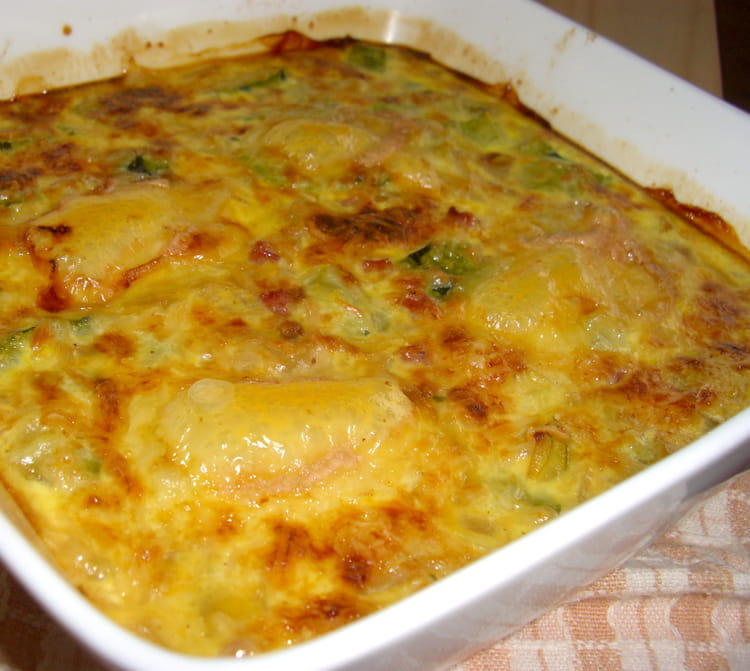 recette de gratin de courgettes pignons de pin et. Black Bedroom Furniture Sets. Home Design Ideas