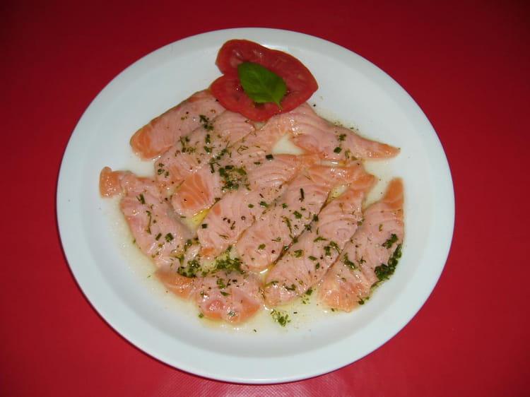 Saumon marin au citron aneth et ciboulette la recette for Entree facile a realiser