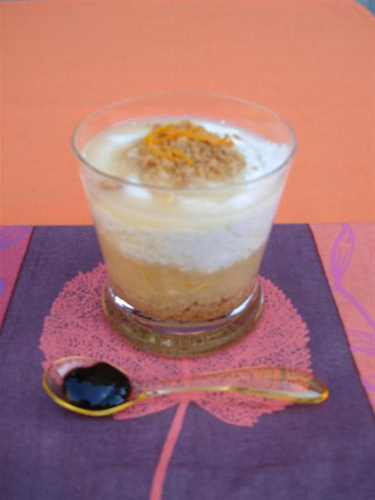 Recette de verrine d 39 automne aux poires sp culoos et confiture de vanille la recette facile - Verrine d automne ...