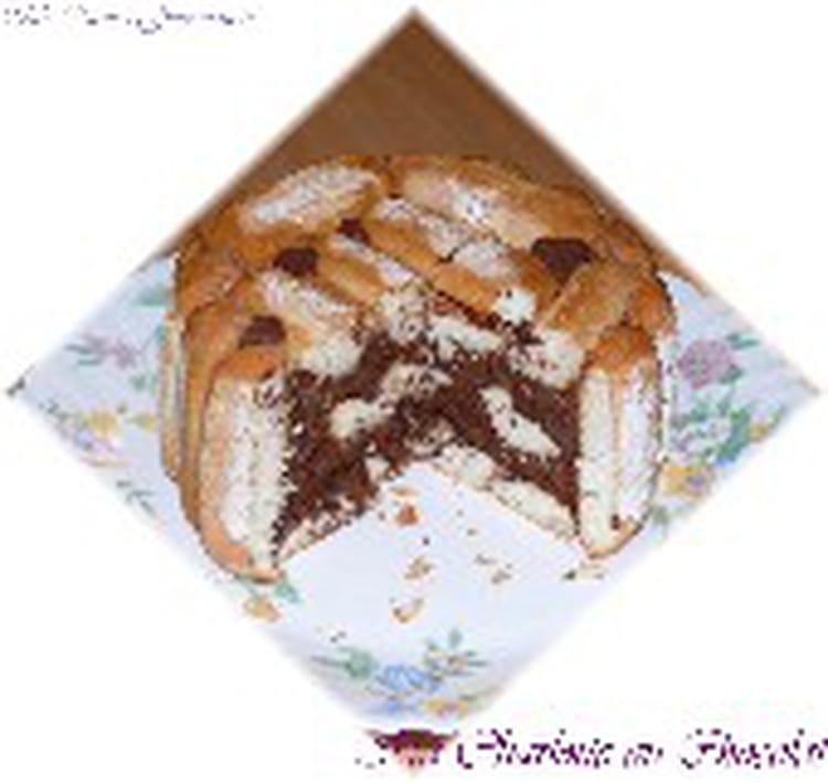 Recette de ma charlotte au chocolat la recette facile - Charlotte au chocolat facile ...