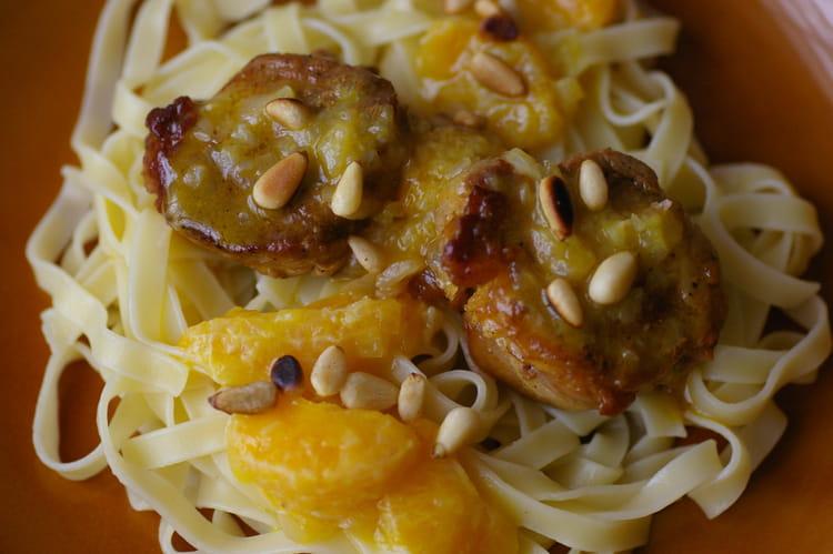 Recette de filet mignon de porc aux mandarines la - Cuisiner filet mignon de porc ...