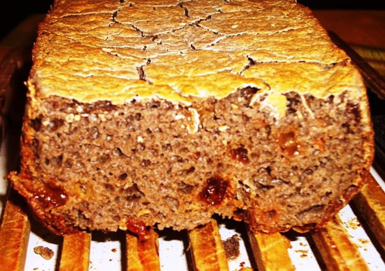recette de pain au sarrasin et aux raisins la recette facile. Black Bedroom Furniture Sets. Home Design Ideas