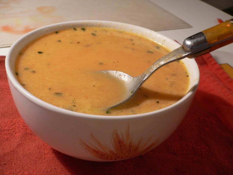 recette de velout 233 de potiron au bleu d auvergne la recette facile