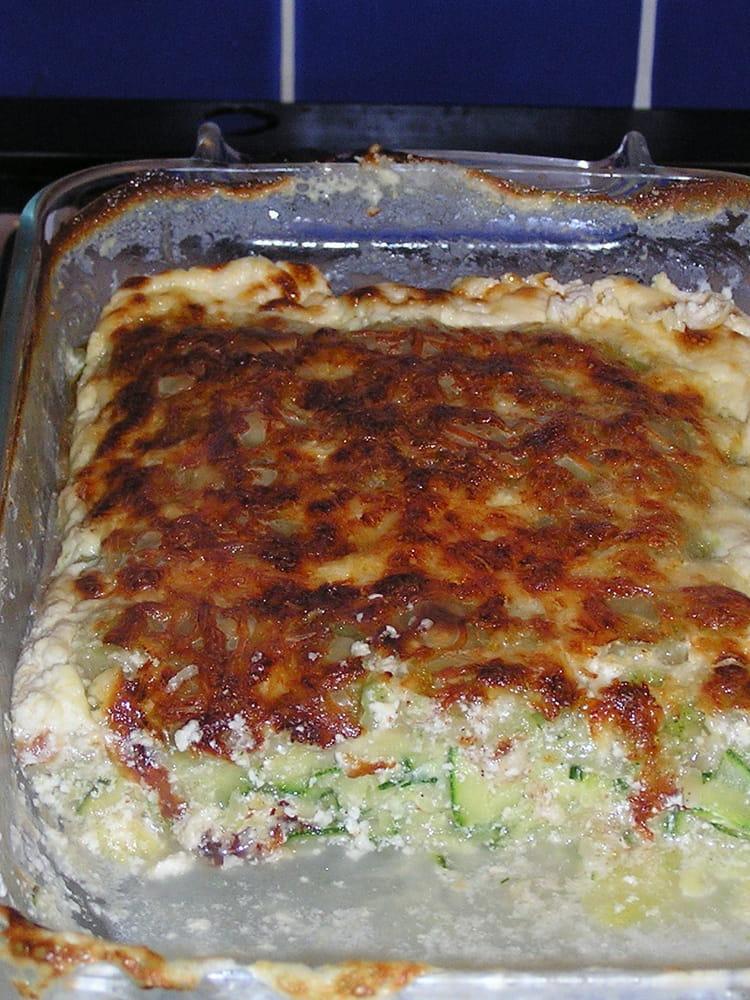 Recette de gratin de ravioles aux courgettes et noix de for Noix de muscade cuisine