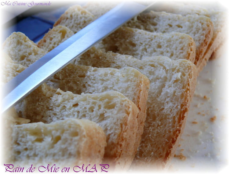Recette de pain de mie en machine pain la recette facile - Pain de mie machine a pain ...