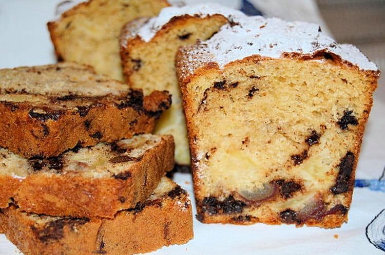 recette de cake aux dattes pommes et chocolat la recette facile
