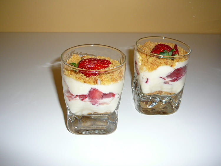 recette de verrine de tiramisu aux fraises la recette facile