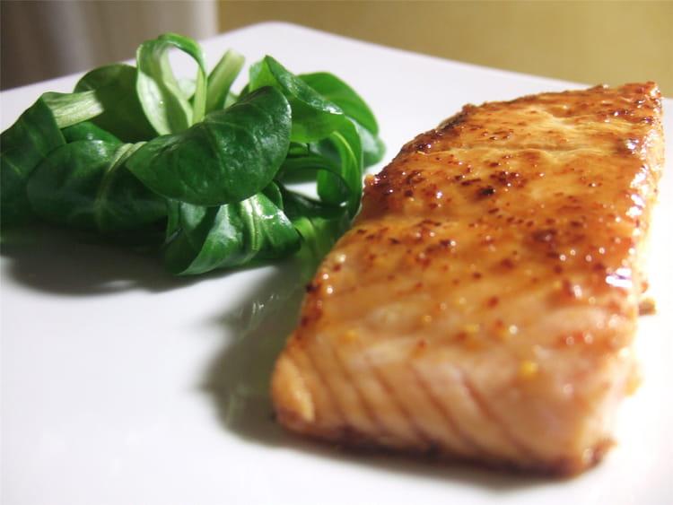 Recette de pav de saumon au miel et piment la recette facile - Comment cuisiner pave de saumon ...