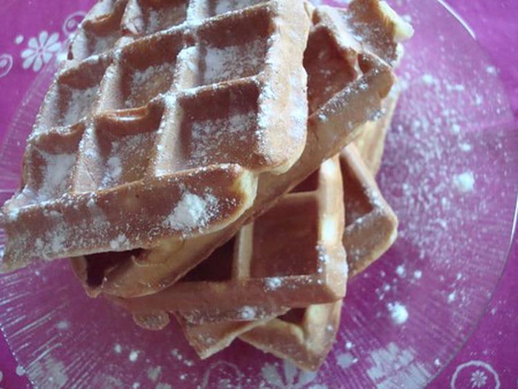 Recette de gaufres light sans beurre la recette facile - Gaufre sans beurre ...