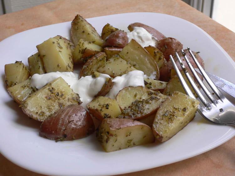 recette de pommes de terre pic es au four la recette facile. Black Bedroom Furniture Sets. Home Design Ideas