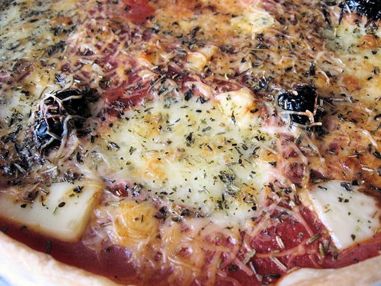 Tarte façon pizza