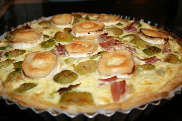 Recette de tarte aux choux de bruxelles la recette facile - Cuisiner chou de bruxelles ...