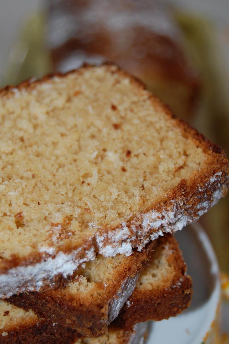Recette de cake la noix de coco et au beurre de cacahu te la recette facile - Gateau beurre de cacahuete ...
