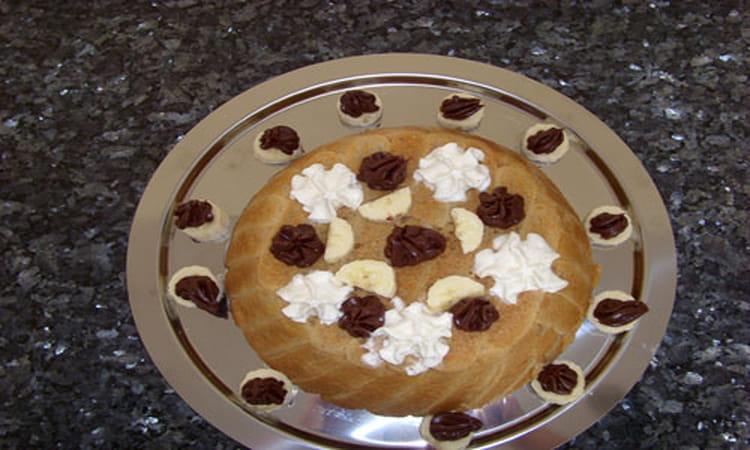 Recette de charlotte chocolat banane la recette facile - Recette charlotte chocolat facile ...