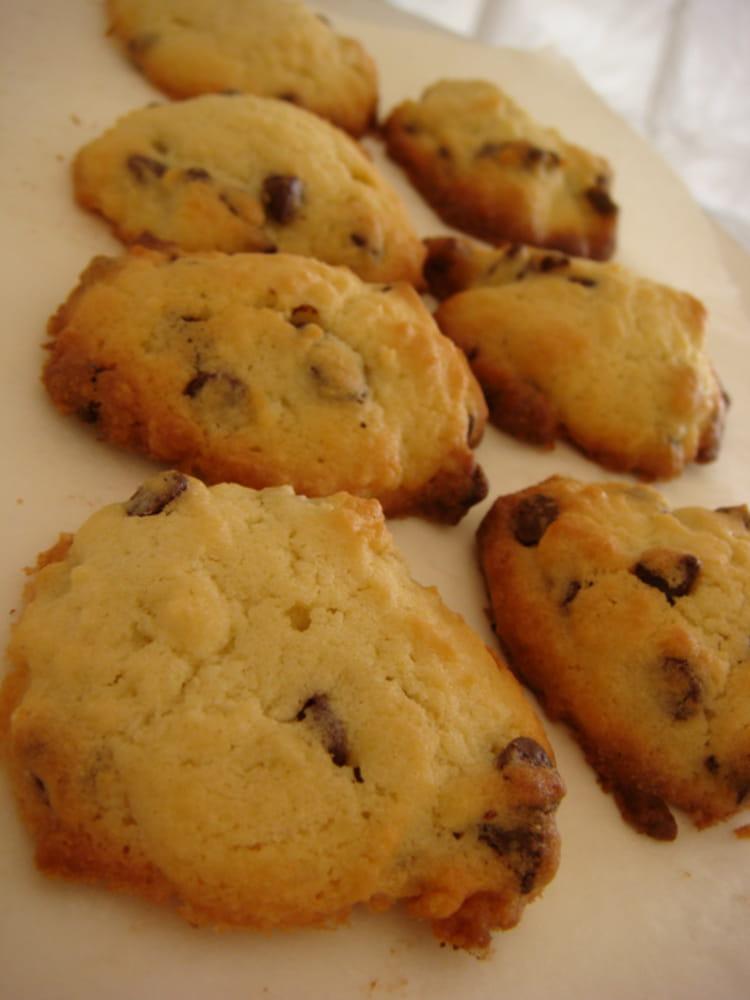 Recette de cookies moelleux au chocolat au lait la - Recette cookies chocolat moelleux ...