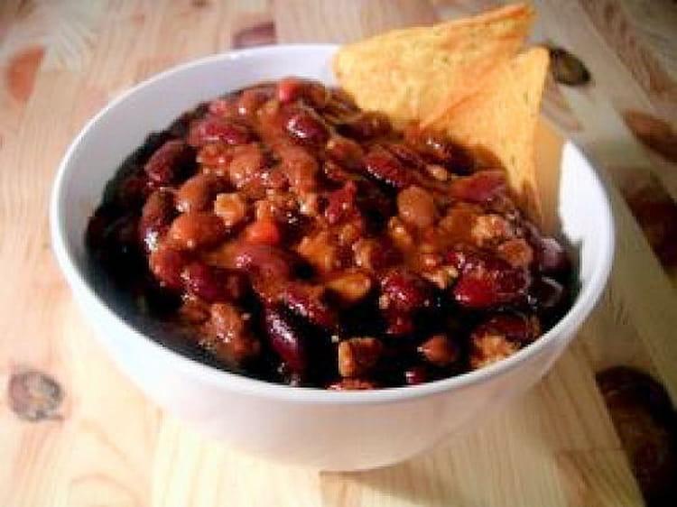 Recette de chili con carne convivial la recette facile - Recette chili cone carne thermomix ...