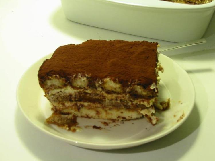 Recette de tiramisu au chocolat en poudre la recette facile - Recette tiramisu au chocolat ...