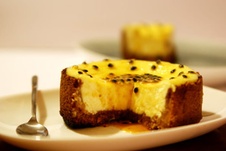 Cheesecake Aux Fruits de la Passion au Fruit de la Passion