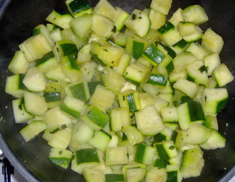 comment cuisiner les courgettes a la poele