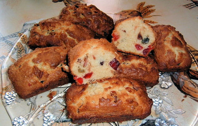 Mini Cake Aux Fruits Confits Thermomix