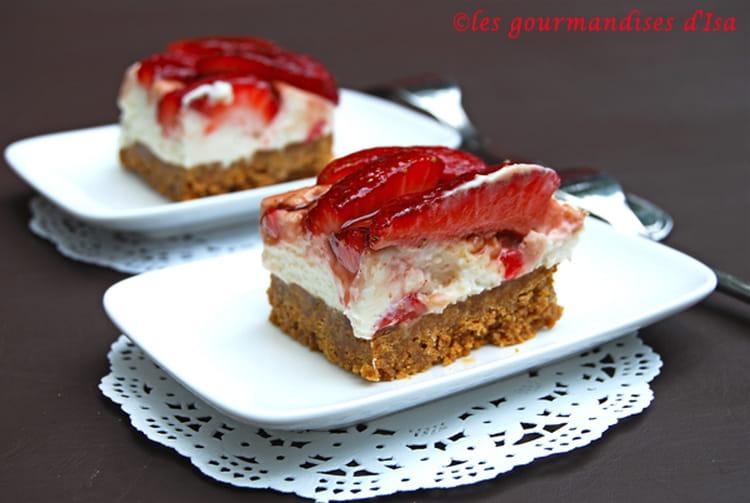 recette de carr 233 s aux fraises et au mascarpone la recette facile
