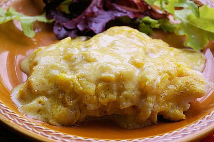 Recette de filet de cabillaud au curry la recette facile - Cuisine dos de cabillaud ...