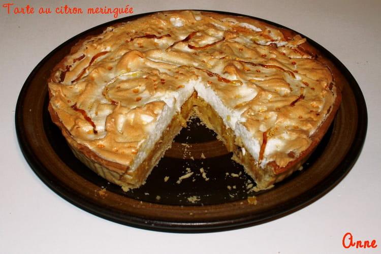 Recette de tarte au citron meringu e basique la recette facile - Tarte aux citrons meringuee facile ...