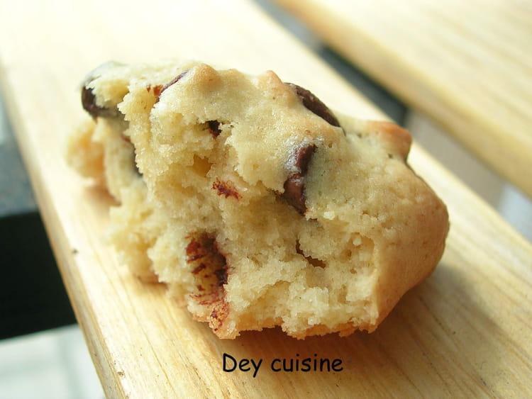 Recette de cookies moelleux aux p pites de chocolat la - Recette cookies chocolat moelleux ...
