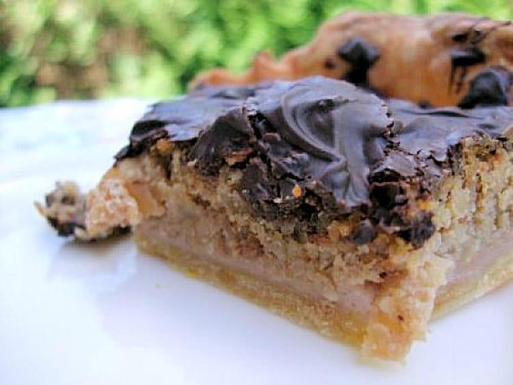 recette de tarte pommes noix et chocolat la recette facile. Black Bedroom Furniture Sets. Home Design Ideas