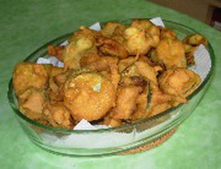 Beignets de courgettes express la recette facile - La ferme aux beignets ...