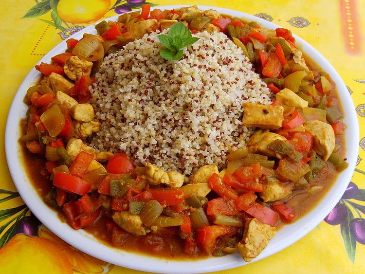 Recette de poulet au quinoa la recette facile for Cuisiner quinoa