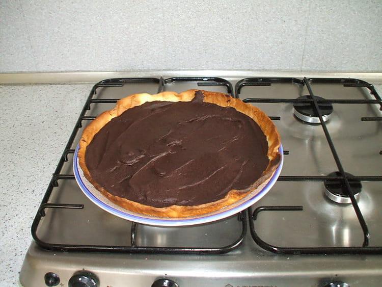 Tarte au chocolat toute simple la recette facile - Tarte aux chocolat facile ...