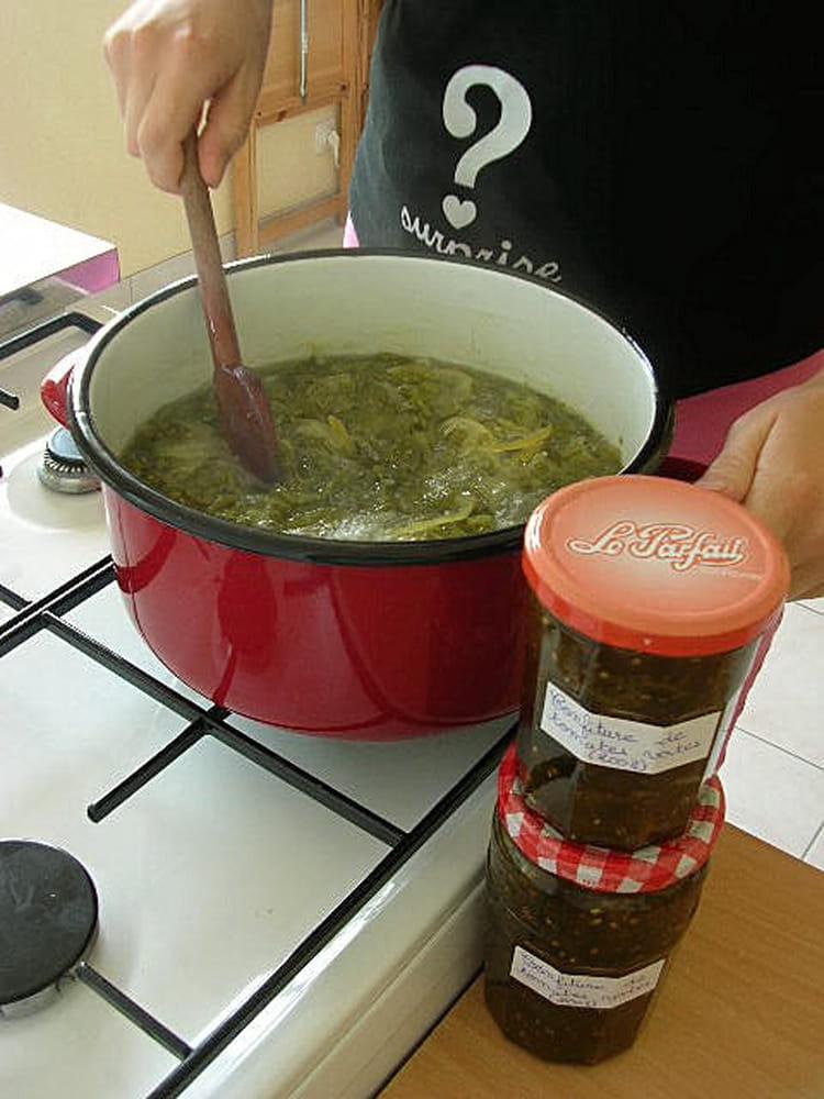 Recette confiture de tomates vertes confiture - Cuisiner des tomates vertes ...