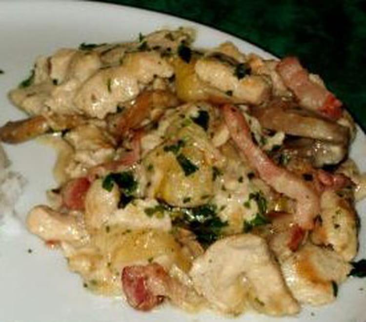 Recette de blancs de poulet aux endives la recette facile - Cuisiner des cuisses de poulet ...