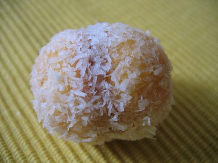 recette  gateau noix de coco confiture
