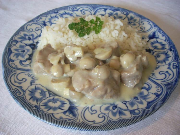 Recette de blanquette de veau traditionnelle la recette facile - Blanquette de veau recette facile ...