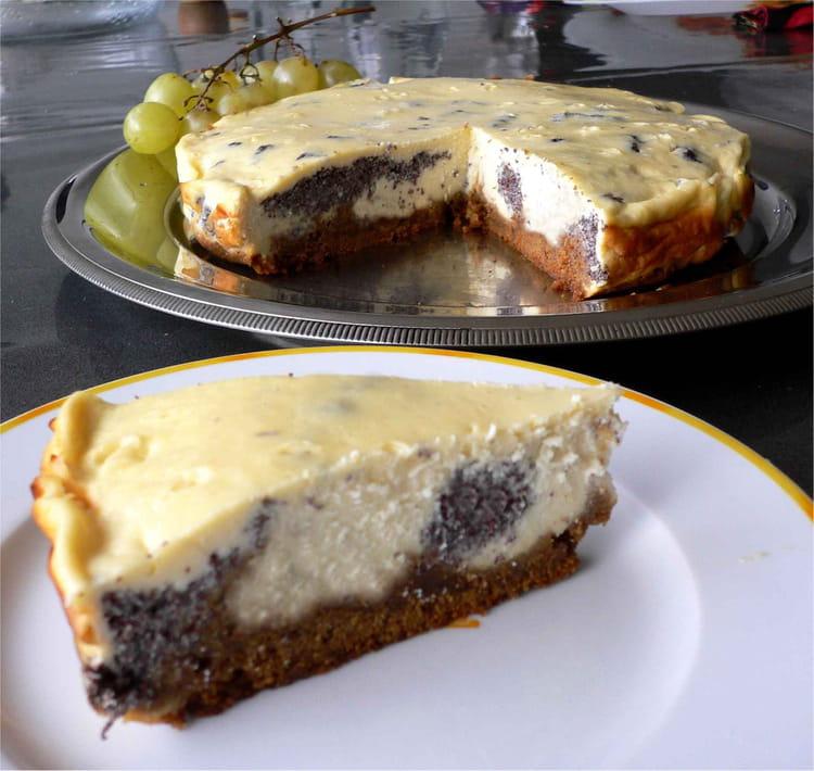 recette de cheesecake marbr 233 au pavot la recette facile