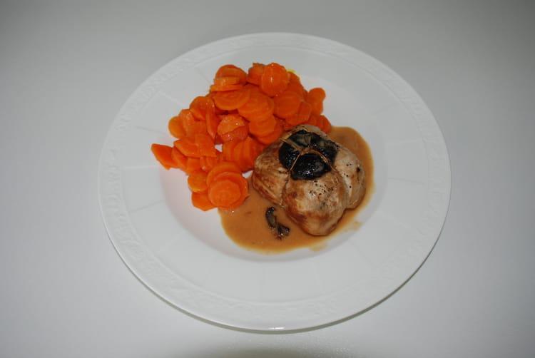 Recette de paupiettes de poulet la saucisse de morteau - Cuisiner saucisse de morteau ...