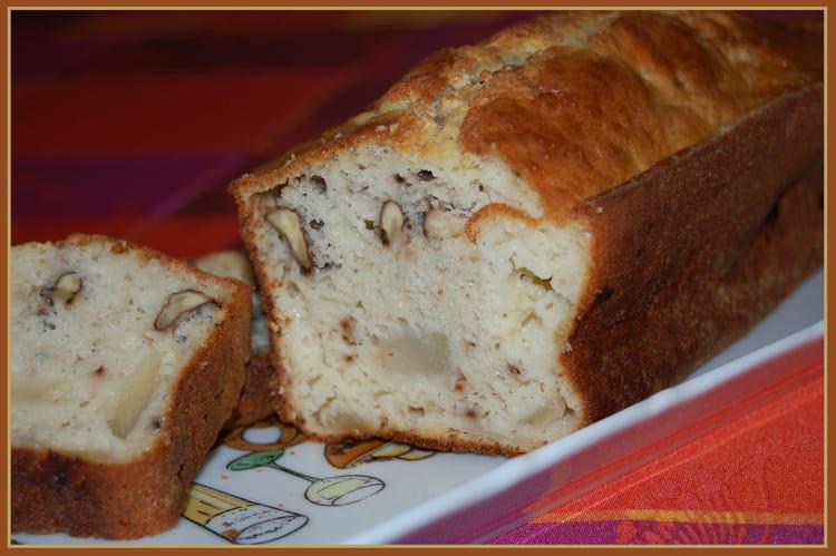 Cake Au Bleu Et Au Noix Et Poires