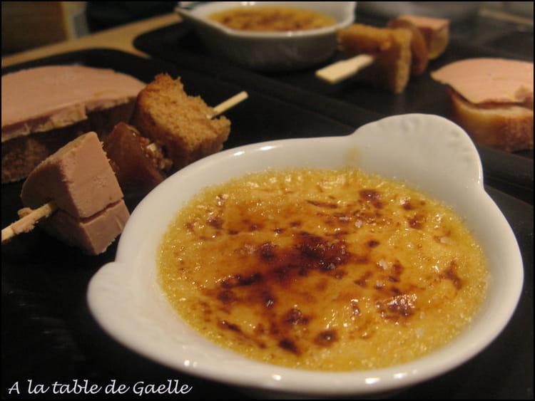 cr me br l e au foie gras toute simple la recette facile. Black Bedroom Furniture Sets. Home Design Ideas