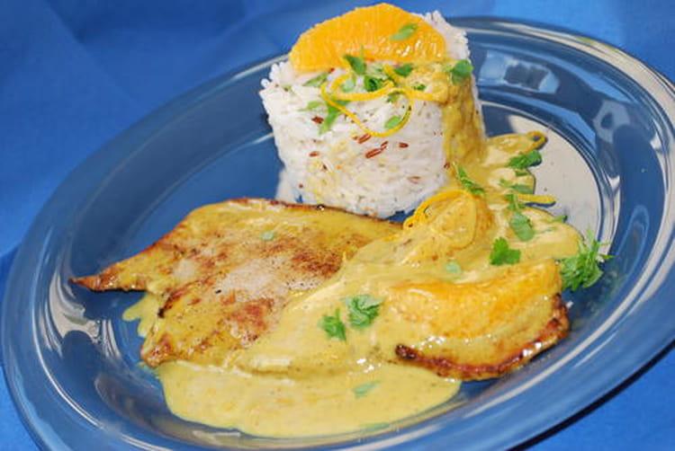 Recette escalopes de veau la cr me au curry et l 39 orange la recette facile - Rognons de veau a la creme ...