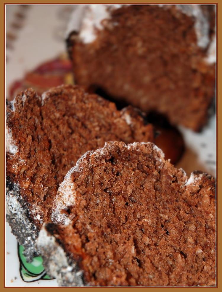 Cake cacao et noix de coco