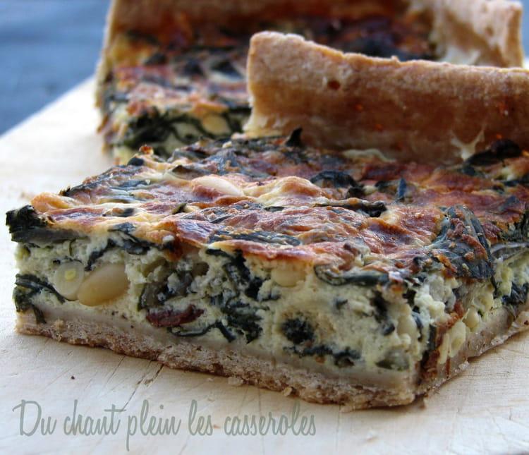 recette de tarte aux blettes ch vre raisins secs et pignons la recette facile. Black Bedroom Furniture Sets. Home Design Ideas