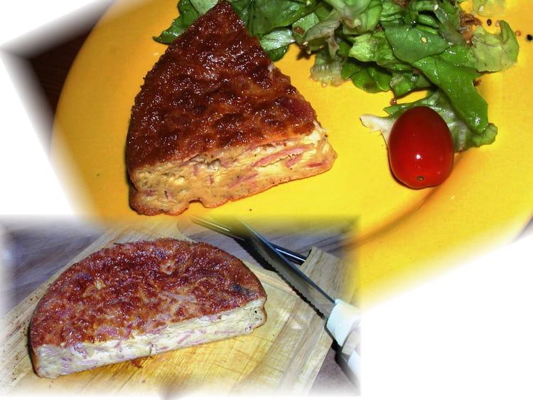 recette de quiche sans p 226 te gruy 232 re et jambon la recette facile