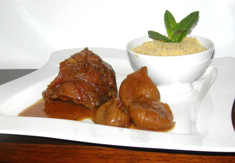 Recette de jarret de veau aux pices la recette facile - Cuisiner jarret de veau ...