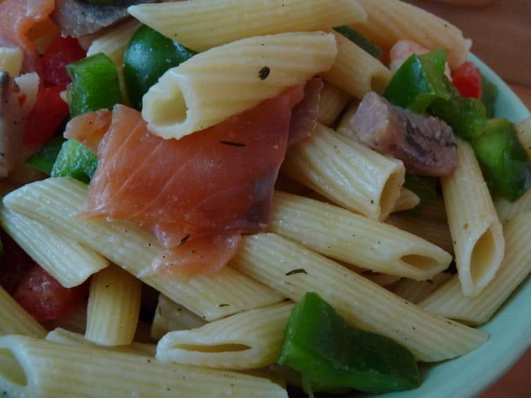 recette de salade de p 226 tes froide au poisson la recette facile