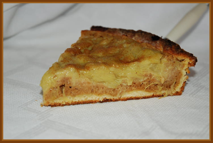recette de tarte brioch 233 e 224 la rhubarbe la recette facile